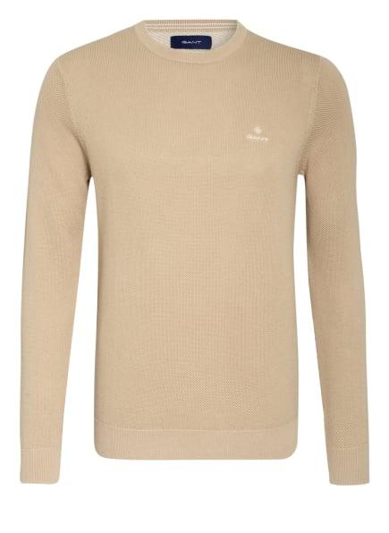 GANT Pullover, Farbe: BEIGE (Bild 1)