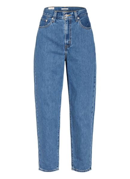 Levi's® Jeans HIGH LOOSE TAPER, Farbe: 04 Med Indigo - Flat Finish (Bild 1)