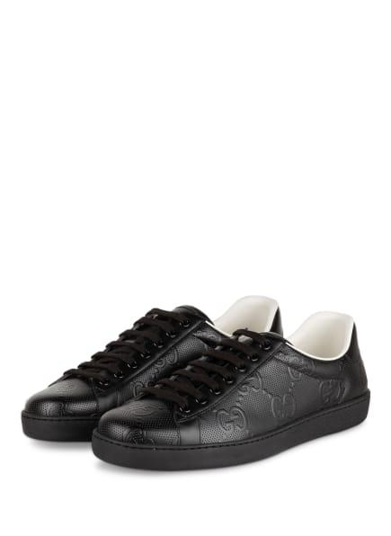 GUCCI Sneaker ACE, Farbe: SCHWARZ (Bild 1)