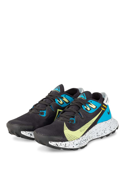 Nike Trailrunning-Schuhe PEGASUS TRAIL 2, Farbe: NEONBLAU/ SCHWARZ/ HELLGELB (Bild 1)