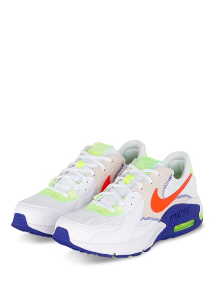 Nike Sneaker AIR MAX EXCEE, Farbe: WEISS/ NEONGRÜN/ CREME (Bild 1)