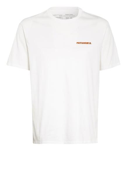 patagonia T-Shirt SUMMIT ROAD, Farbe: WEISS (Bild 1)