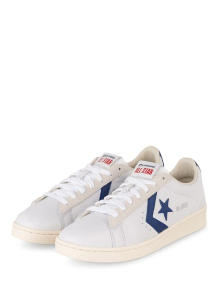 CONVERSE Sneaker PRO LEATHER, Farbe: WEISS/ BLAU (Bild 1)