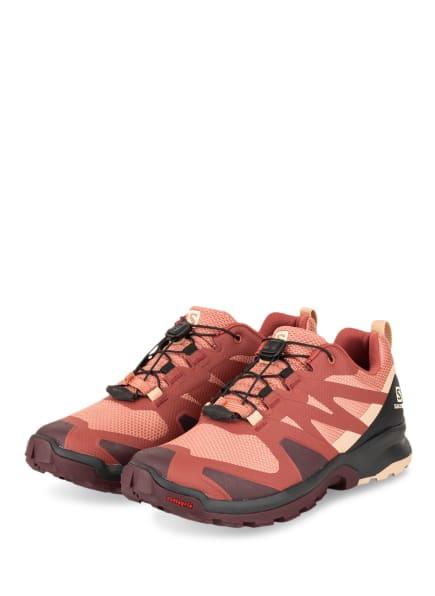 SALOMON Trailrunning-Schuhe XA ROGG, Farbe: LACHS/ DUNKELROT (Bild 1)