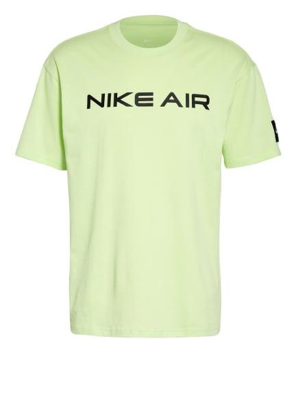 Nike T-Shirt AIR, Farbe: NEONGRÜN/ SCHWARZ (Bild 1)