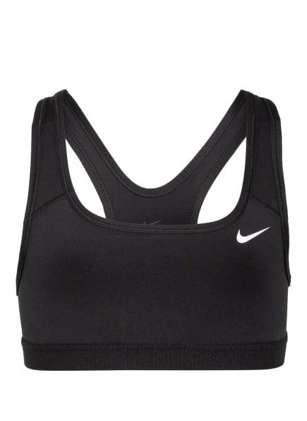 Nike Sport-BH SWOOSH , Farbe: SCHWARZ/ WEISS (Bild 1)