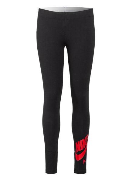 Nike Tights AIR FAVORITES, Farbe: SCHWARZ/ ROT (Bild 1)
