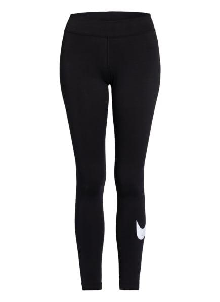 Nike Tights SPORTSWEAR ESSENTIAL, Farbe: SCHWARZ/ WEISS (Bild 1)