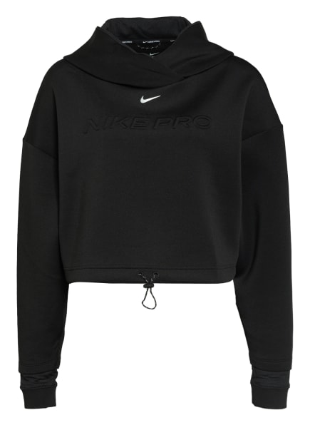 Nike Hoodie PRO, Farbe: SCHWARZ (Bild 1)