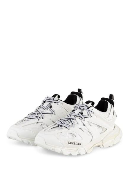 BALENCIAGA Plateau-Sneaker TRACK, Farbe: WEISS/ SCHWARZ (Bild 1)