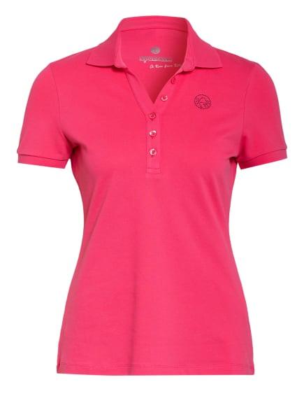 SPORTALM Piqué-Poloshirt, Farbe: NEONROSA (Bild 1)