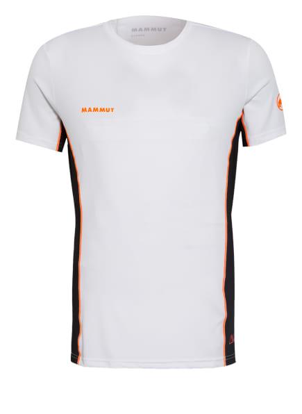 MAMMUT T-Shirt SERTIG mit Mesh-Einsatz, Farbe: WEISS/ SCHWARZ (Bild 1)
