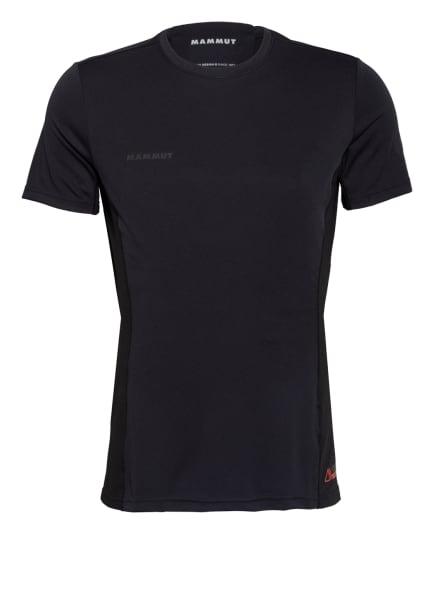 MAMMUT T-Shirt SERTIG mit Mesh-Einsatz, Farbe: SCHWARZ (Bild 1)