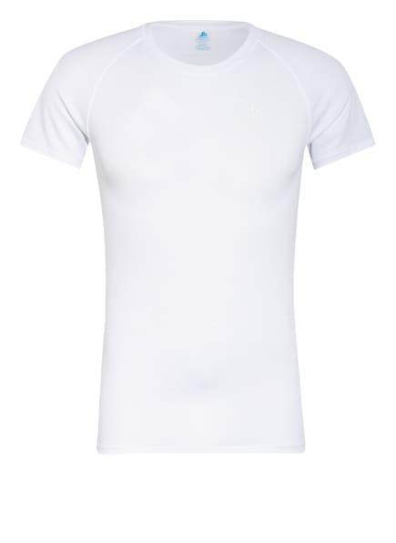 odlo Funktionswäsche-Shirt ACTIVE F-DRY LIGHT ECO, Farbe: WEISS (Bild 1)