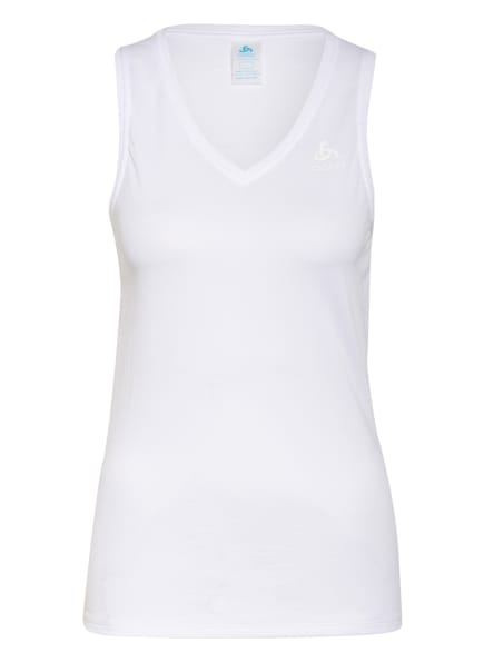 odlo Funktionswäsche-Top ACTIVE F-DRY LIGHT ECO, Farbe: WEISS (Bild 1)