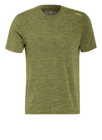 CMP T-Shirt mit UV-Schutz 40, Farbe: E325 LIME (Bild 1)
