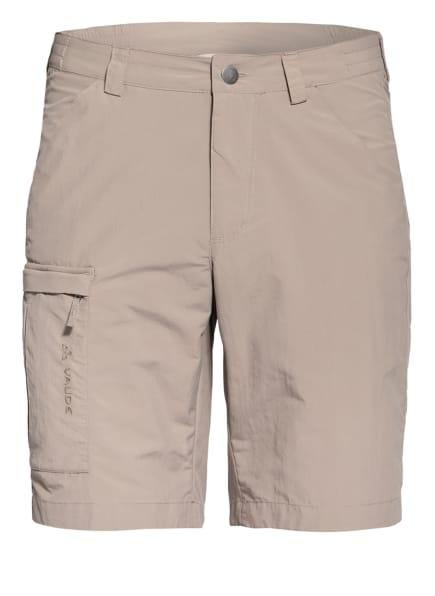 VAUDE Outdoor-Shorts FARLEY V mit UV-Schutz 50+, Farbe: CAMEL (Bild 1)