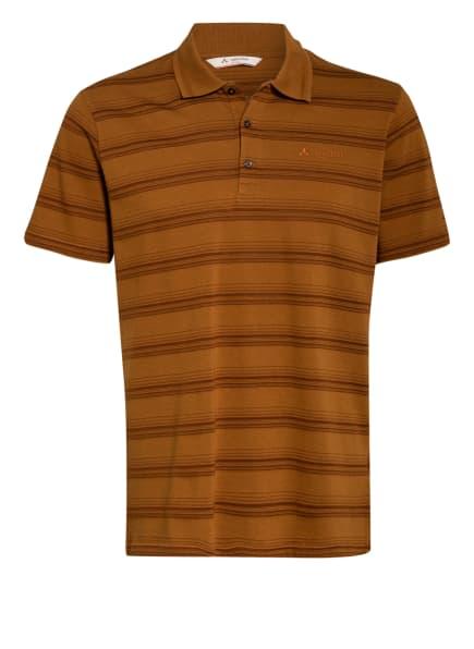 VAUDE Poloshirt LABISCO II, Farbe: HELLBRAUN/ BRAUN (Bild 1)