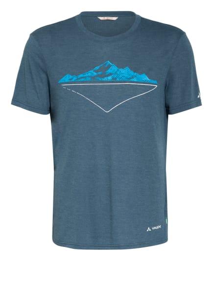 VAUDE T-Shirt TEKORA, Farbe: PETROL (Bild 1)