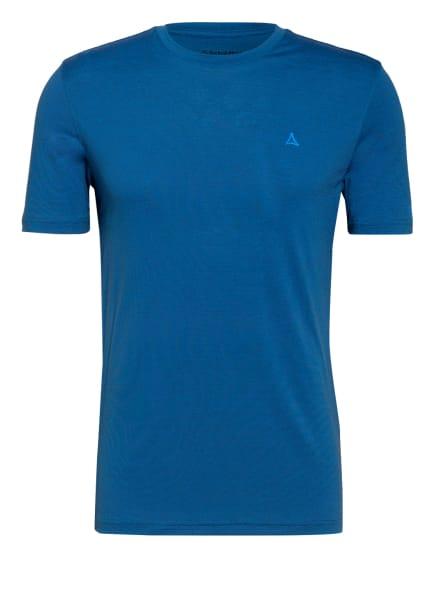 Schöffel T-Shirt HOCHWANNER, Farbe: BLAU/ DUNKELGRAU (Bild 1)
