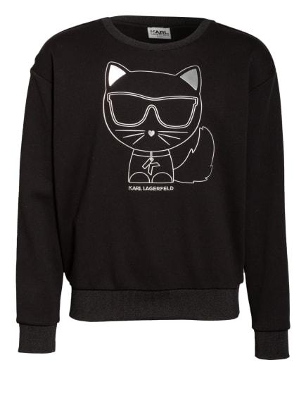 KARL LAGERFELD KIDS Sweatshirt, Farbe: SCHWARZ (Bild 1)