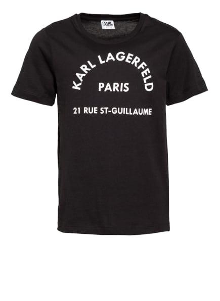 KARL LAGERFELD KIDS T-Shirt, Farbe: SCHWARZ/ WEISS (Bild 1)