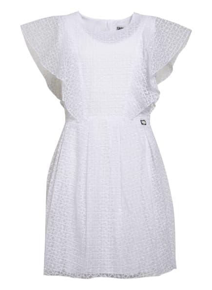 KARL LAGERFELD KIDS Kleid DOLLAR, Farbe: WEISS (Bild 1)