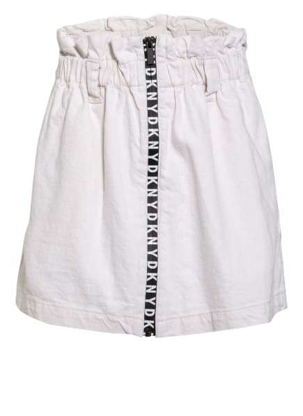 DKNY Paperbag-Rock aus Jeans, Farbe: CREME (Bild 1)