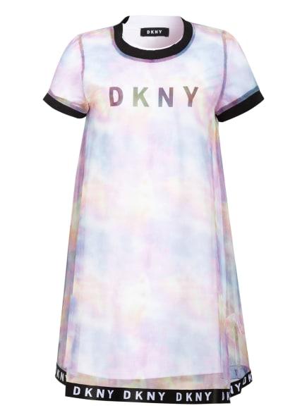 DKNY Kleid, Farbe: WEISS/ LILA/ GELB (Bild 1)