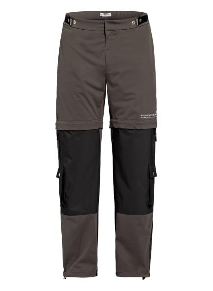 GIVENCHY Zip-off-Hose, Farbe: DUNKELGRAU/ SCHWARZ/ WEISS (Bild 1)