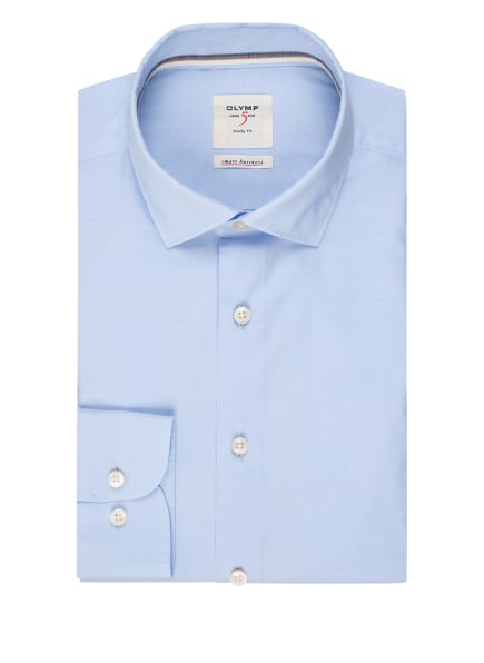 OLYMP Hemd Level Five Smart Business body fit, Farbe: HELLBLAU (Bild 1)