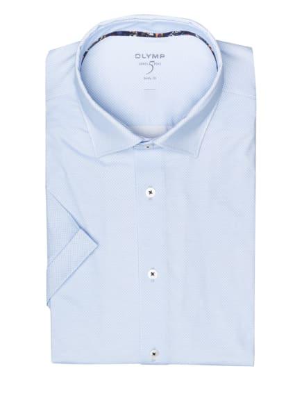 OLYMP Kurzarm-Hemd Level Five 24/7 body fit, Farbe: HELLBLAU/ BLAU (Bild 1)
