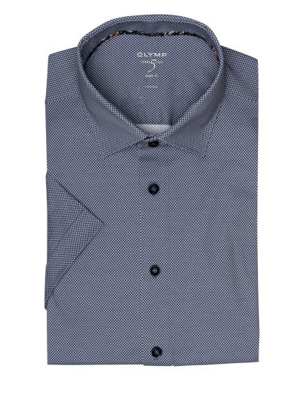 OLYMP Kurzarm-Hemd Level Five 24/7 body fit, Farbe: DUNKELBLAU/ HELLBLAU (Bild 1)