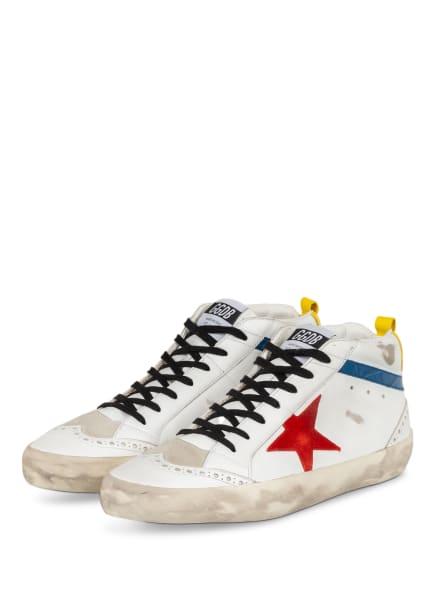 GOLDEN GOOSE Hightop-Sneaker MIDSTAR, Farbe: WEISS (Bild 1)