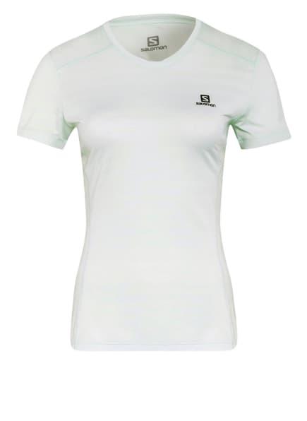 SALOMON T-Shirt XA, Farbe: HELLGRÜN (Bild 1)