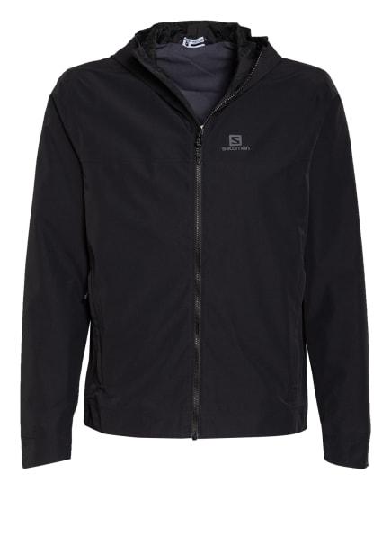 SALOMON Outdoor-Jacke EXPLORE WATERPFOOF 2L, Farbe: SCHWARZ (Bild 1)