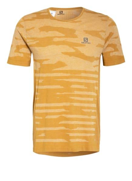 SALOMON T-Shirt XA, Farbe: CAMEL (Bild 1)