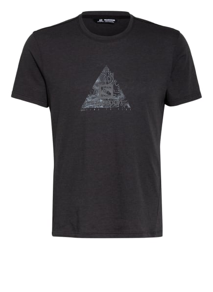 SALOMON T-Shirt EXPLORE BLEND, Farbe: SCHWARZ (Bild 1)