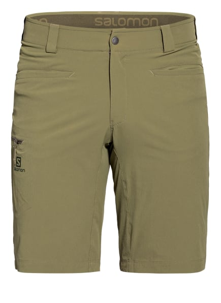 SALOMON Outdoor-Shorts WAYFARER, Farbe: OLIV (Bild 1)