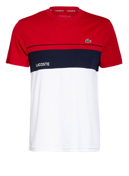 LACOSTE T-Shirt , Farbe: KHAKI/ DUNKELBLAU/ WEISS (Bild 1)