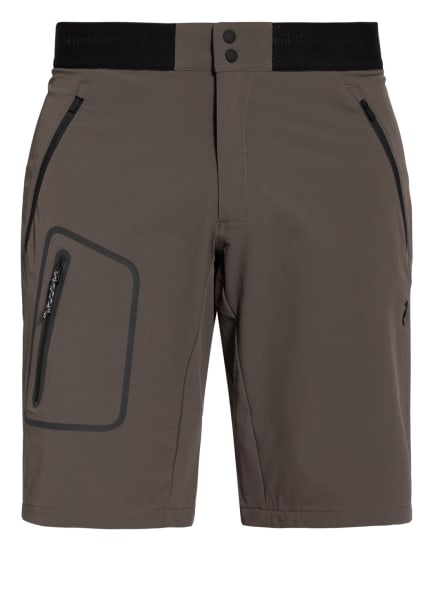 Peak Performance Outdoor-Shorts LIGHT, Farbe: TAUPE/ SCHWARZ (Bild 1)
