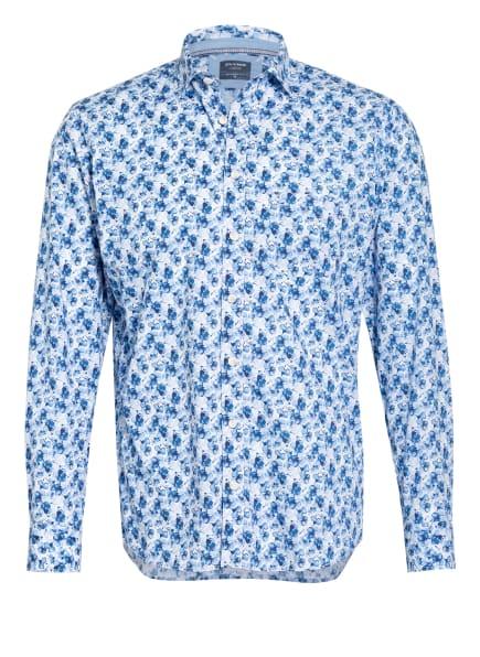OLYMP Hemd Casual modern fit, Farbe: WEISS/ BLAU/ HELLBLAU (Bild 1)