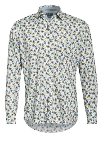 OLYMP Hemd Casual modern fit, Farbe: WEISS/ GRÜN/ GELB (Bild 1)