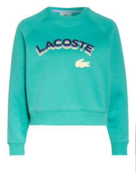 LACOSTE L!VE Sweatshirt, Farbe: TÜRKIS (Bild 1)