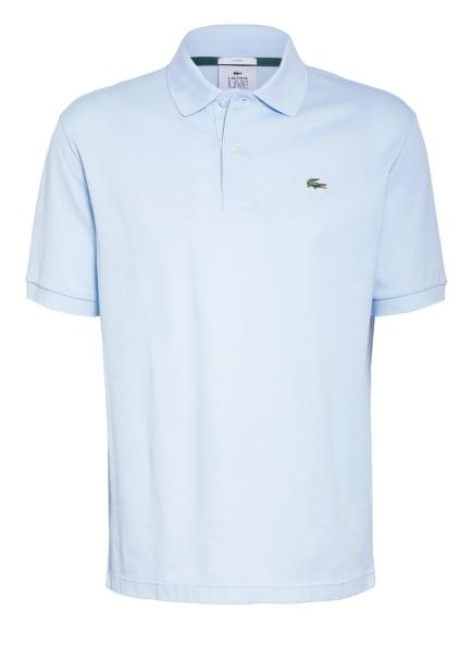 LACOSTE L!VE Piqué-Poloshirt, Farbe: HELLBLAU (Bild 1)