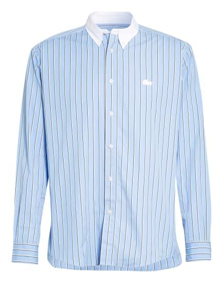 LACOSTE Hemd Comfort Fit, Farbe: HELLBLAU/ WEISS/ SCHWARZ (Bild 1)