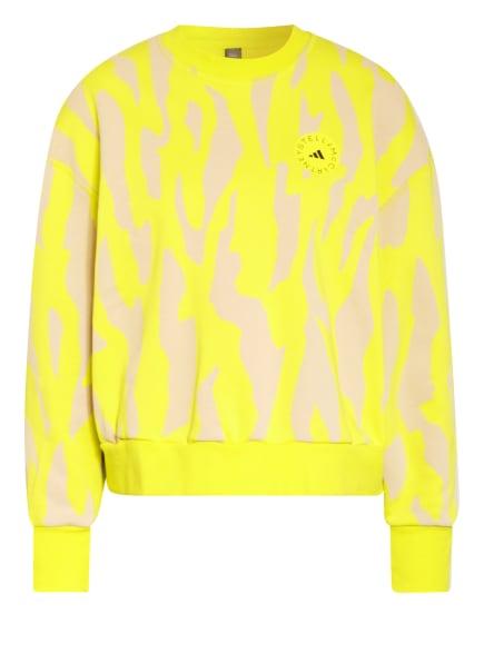 adidas by Stella McCartney Sweatshirt, Farbe: GELB/ NUDE (Bild 1)