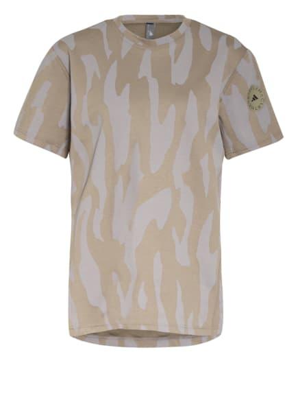 adidas by Stella McCartney T-Shirt FUTURE PLAYGROUND, Farbe: GRAU/ OLIV (Bild 1)