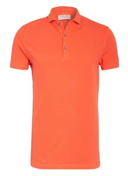 PROFUOMO Piqué-Poloshirt, Farbe: HELLROT (Bild 1)