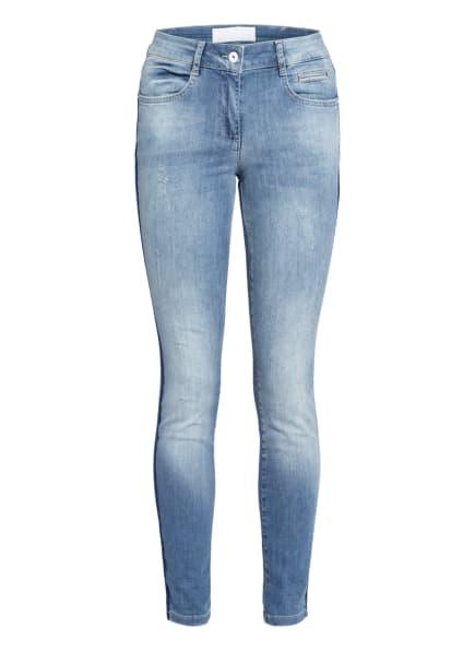 MARC AUREL Skinny Jeans mit Galonstreifen, Farbe: 15300 blue denim (Bild 1)
